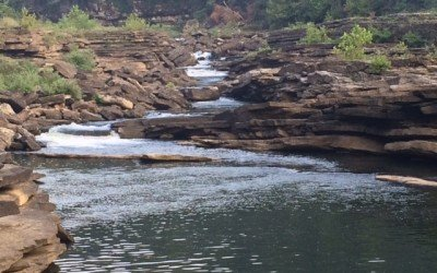 The Swimming Hole at Rock Island