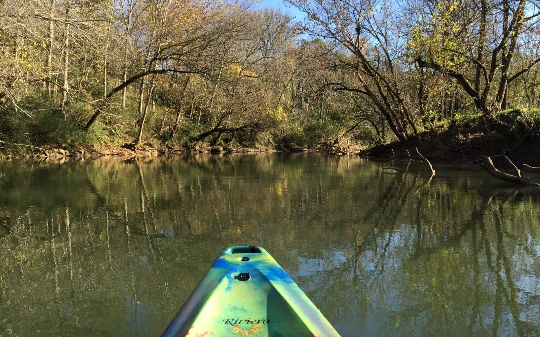 Kayak the Calfkiller River